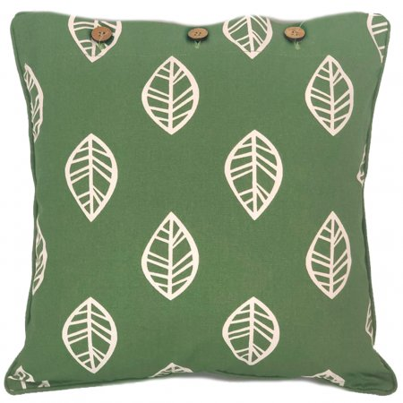 Leaf Green Cushion Cover