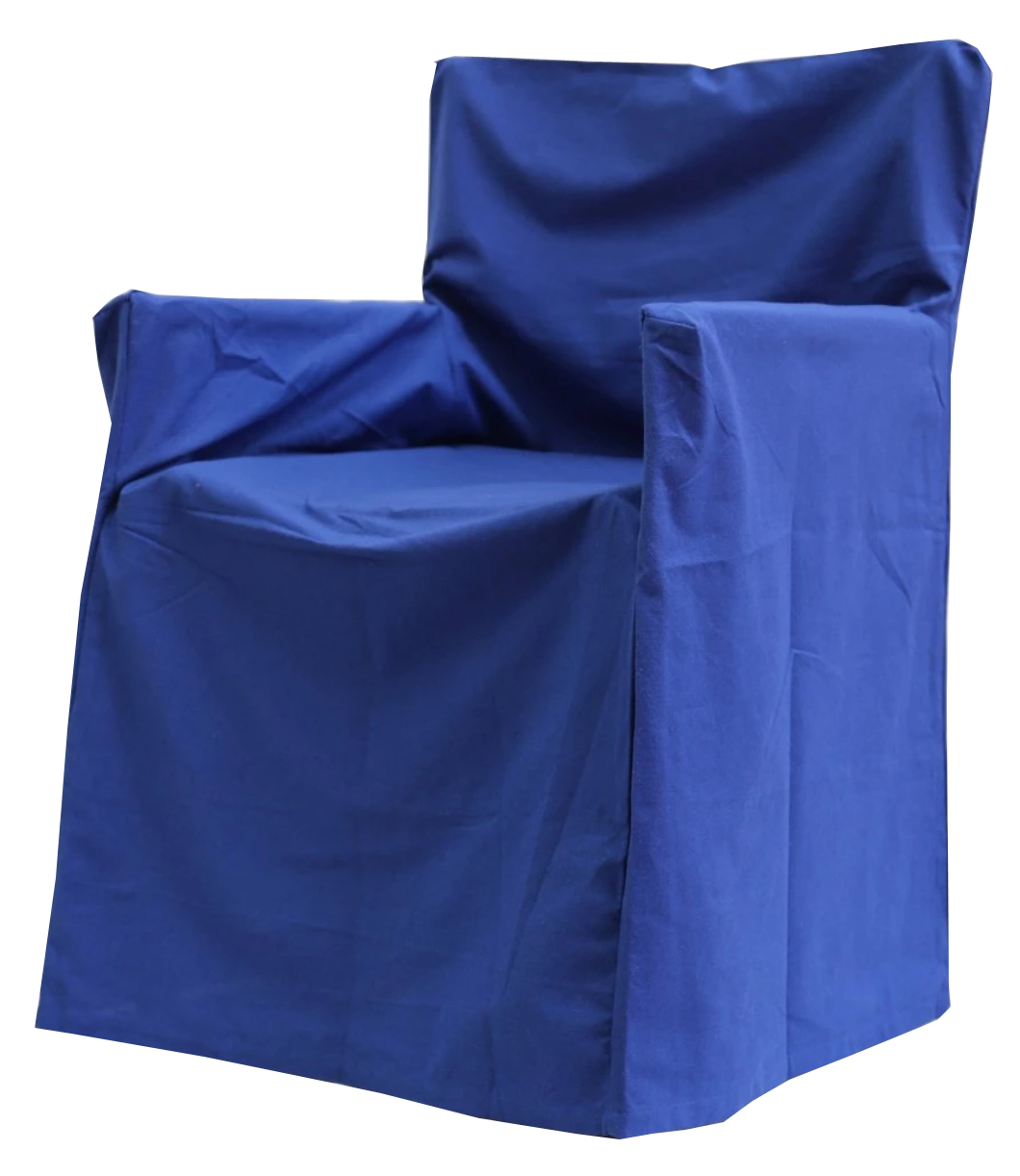 Director's Chair Cover - Trend Blue