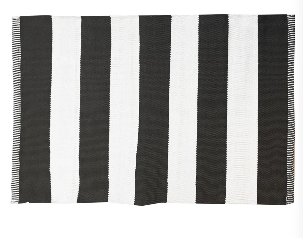 Deck Stripe Mat Black