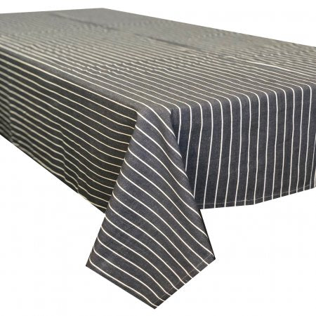 Regatta Charcoal Cotton Tablecloth