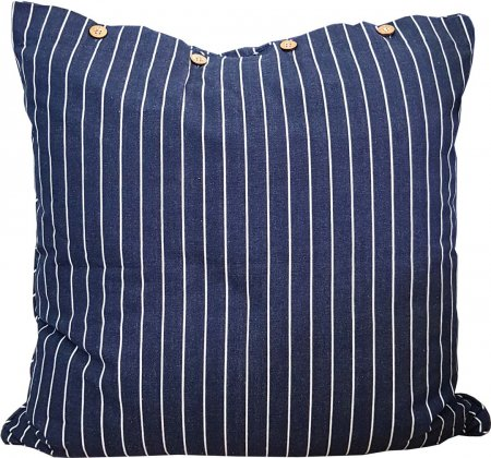 Regatta Navy Cotton Cushion Cover