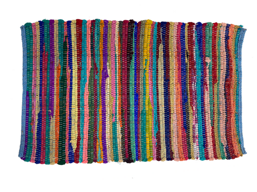 Colourful Rag Rug