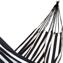 Black and White Striped Hammock