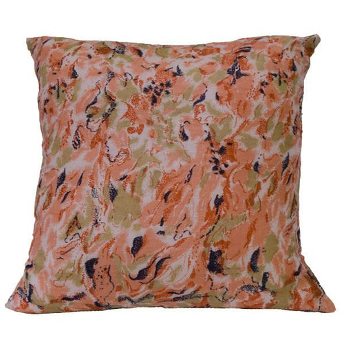 Flamingo Silk Cushion
