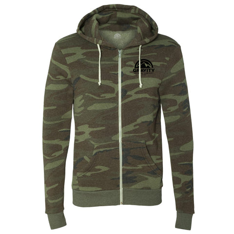 Gravity Outdoor Co. Mens Rocky Hooded Sweatshirt