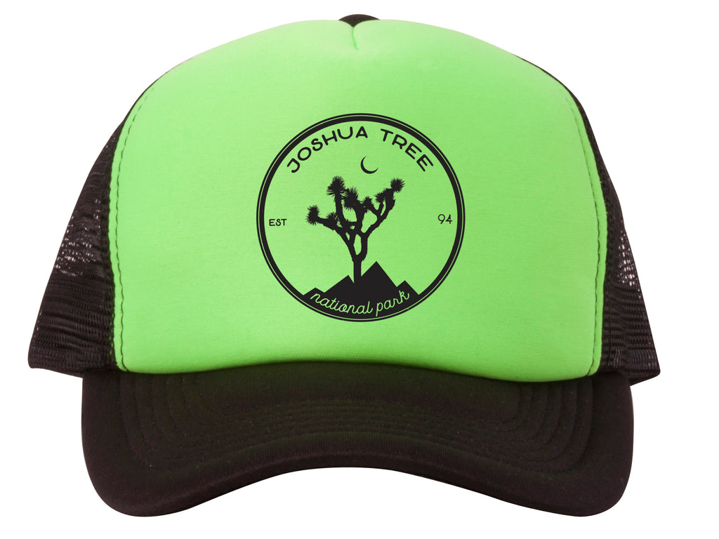 Joshua Tree Patch Adjustable Mesh Trucker Hat – Gravity Outdoor Company 4760f08db91