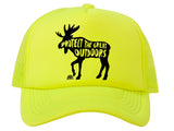 Protect the Great Outdoors Moose Patch Trucker Hat
