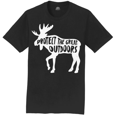 Gravity Outdoor Protect The Great Outdoor Mens T-Shirt