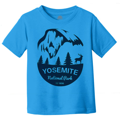 Yosemite National Water-Based Screen Toddler T-Shirt