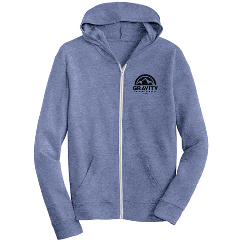 Gravity Outdoor Co. Eco-Jersey Zip Hoodie