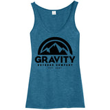 Womens Gravity Outdoor Co. Melange Tank Top