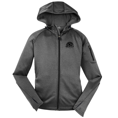 Gravity Outdoor Co. Womens Fleece Hooded Jacket