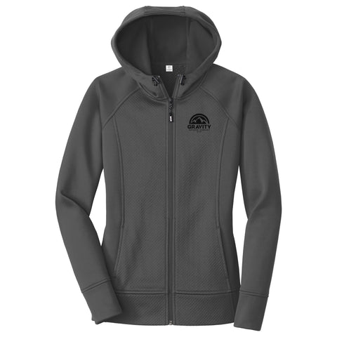 Gravity Outdoor Co. Womens Fleece Full-Zip Hoodie