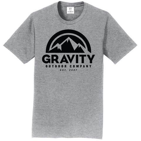 Gravity Outdoor Co. Short-Sleeve T-Shirt - Black Logo