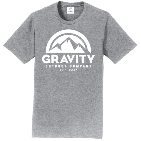 Gravity Outdoor Co. Short-Sleeve T-Shirt - White Logo