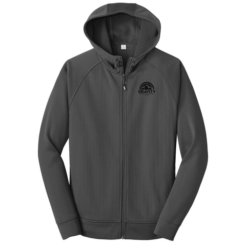 Gravity Outdoor Co. Mens Fleece Full-Zip Hoodie