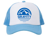 Mountain Stripe Logo Adjustable Mesh Trucker Hat