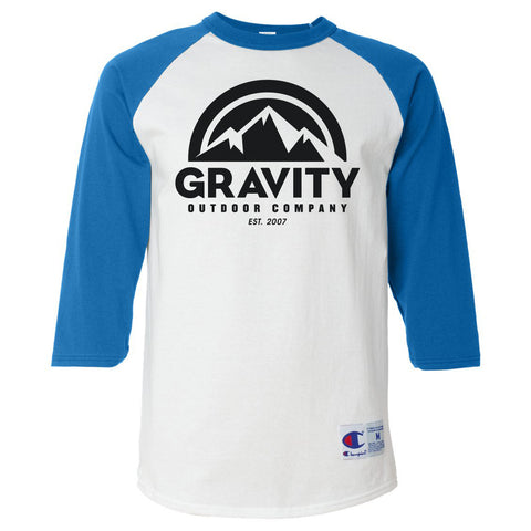 Gravity Outdoor Co. Mens Raglan T-Shirt