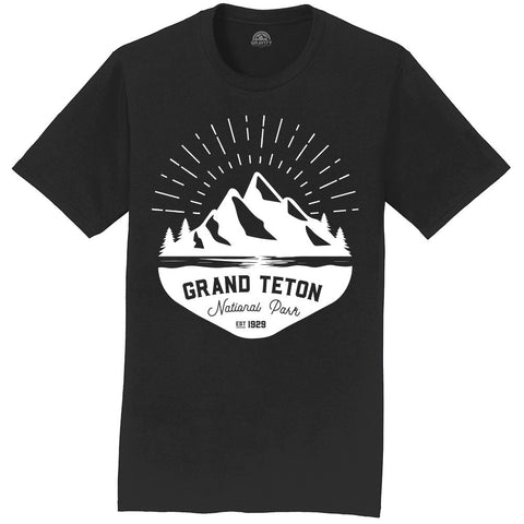 Gravity Outdoor Co. Grand Teton Mens T-Shirt