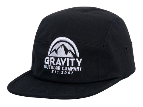 Gravity Outdoor Co. 5 Panel Cotton Adjustable Hat