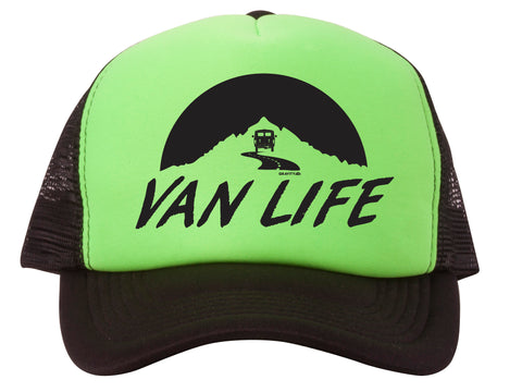Van Life Adjustable Mesh Trucker Hat