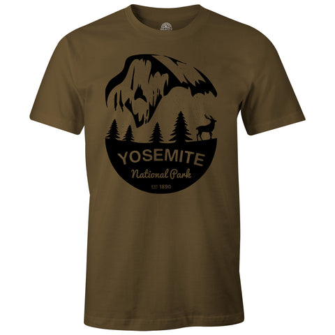 Gravity Outdoor Co. Yosemite Mens AA Short-Sleeve T-Shirt