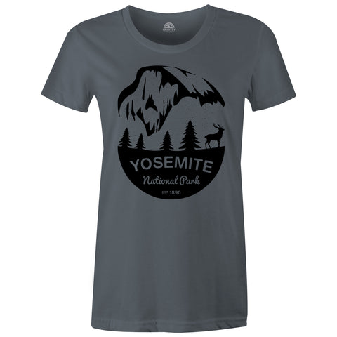 Gravity Outdoor Co. Yosemite Womens AA Short-Sleeve T-Shirt