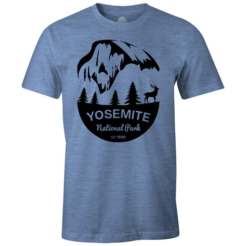 Gravity Outdoor Co. Yosemite Mens AA Tri-Blend T-Shirt