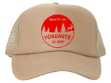 Yosemite Est. 1890 Adjustable Mesh Trucker Hat