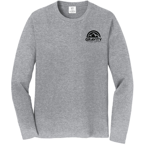 Gravity Outdoor Co. Long-Sleeve Shirt - Black Logo
