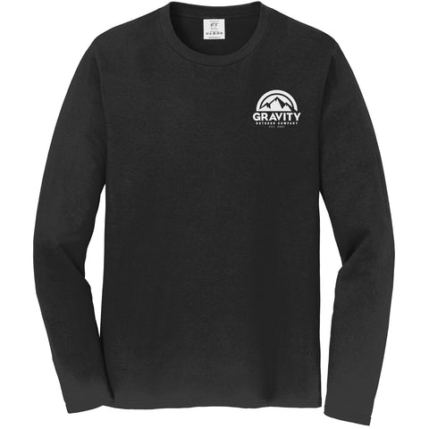 Gravity Outdoor Co. Long-Sleeve Shirt - White Logo