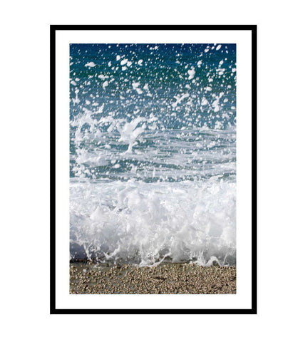 Sea Foam Photography Print