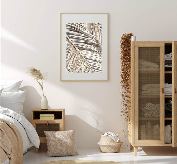 Dried Palm Fronds Print