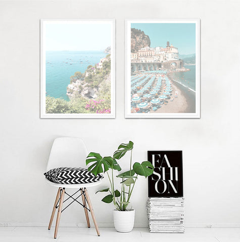 Positano Prints Set of 2