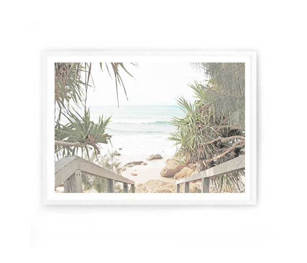 Beach Entrance Photography Print