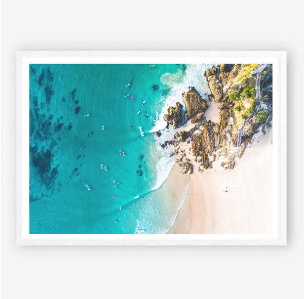 Byron Aerial View Photography Print