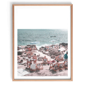 La Fontelina Beach Club Print