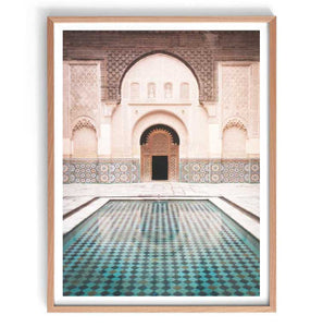 Marrakech Pool Print