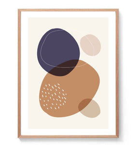Minimal Abstract Circles Print