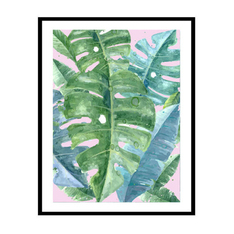 Monstera Watercolour  Print