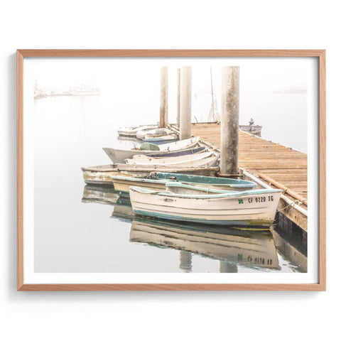 Moored Boats Photography Print
