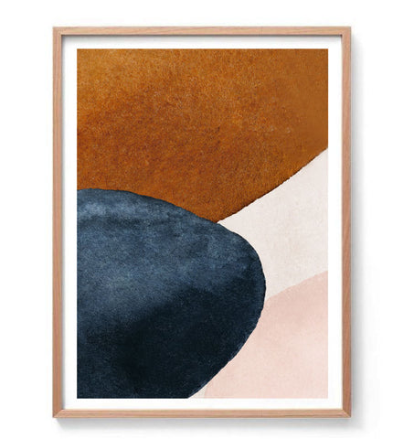 Abstract Forms Print