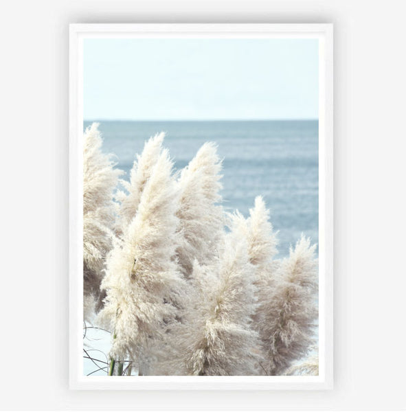 Pampas by the Sea Print
