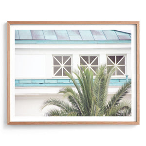 Resort Palms Print
