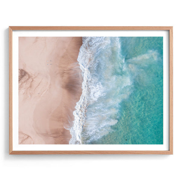 Sand to Surf Aerial Photography Print