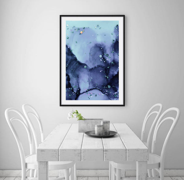 Seascape Abstract Print