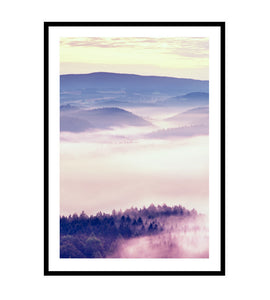 Sunrise Peaks Photography Print