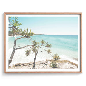 Clear Day on Straddie Photography Print
