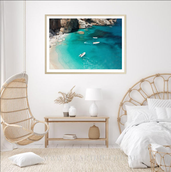 Turquoise Cove Photography Print