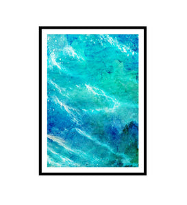 Wild Sea Watercolour  Print